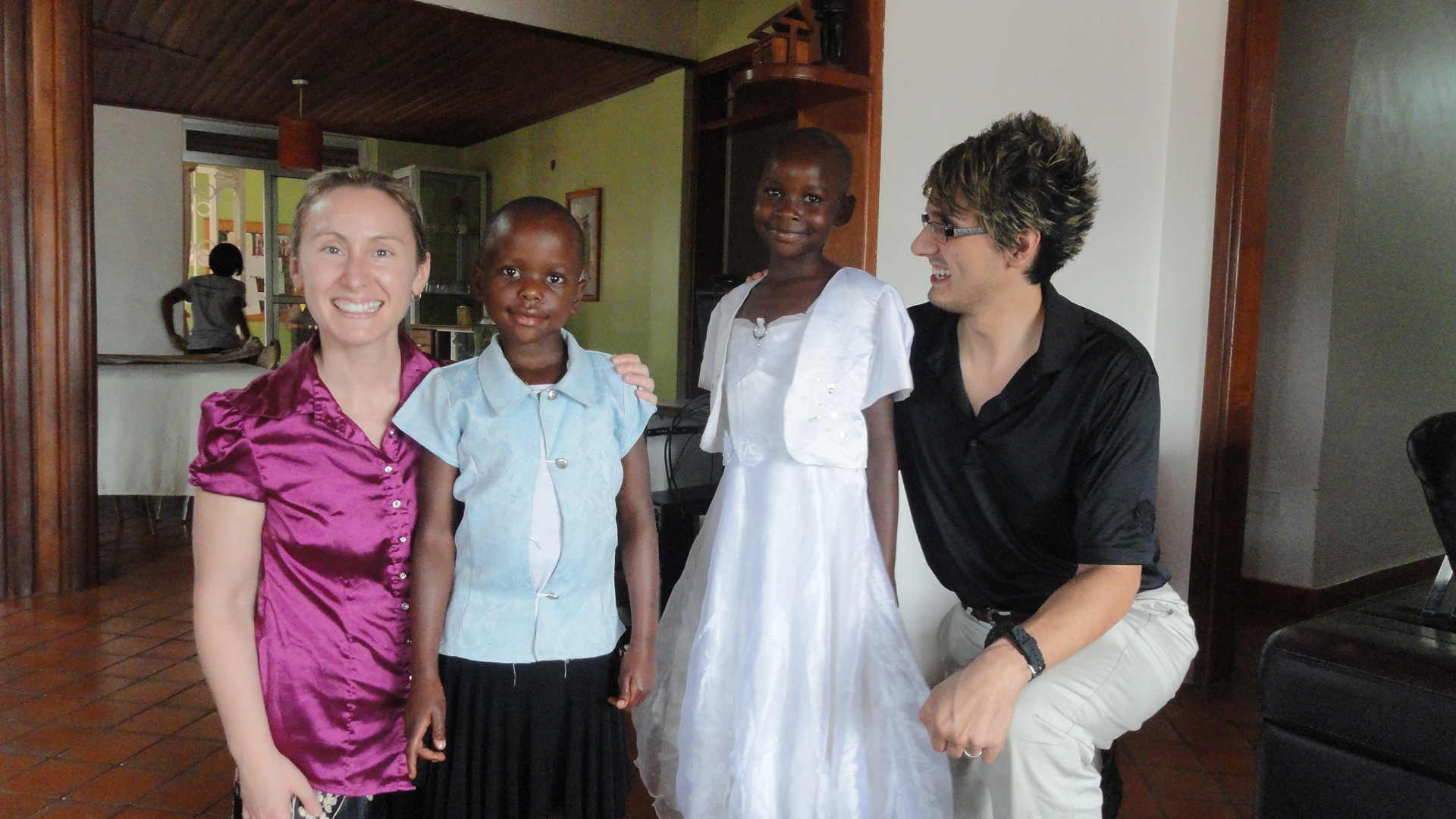 Meeting our Ugandan Daughter