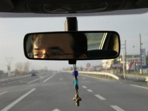 rear-view Mirror, Christian magician, Christian illusionist, new creation, share your story