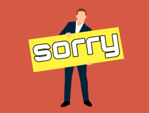 About Apologizing
