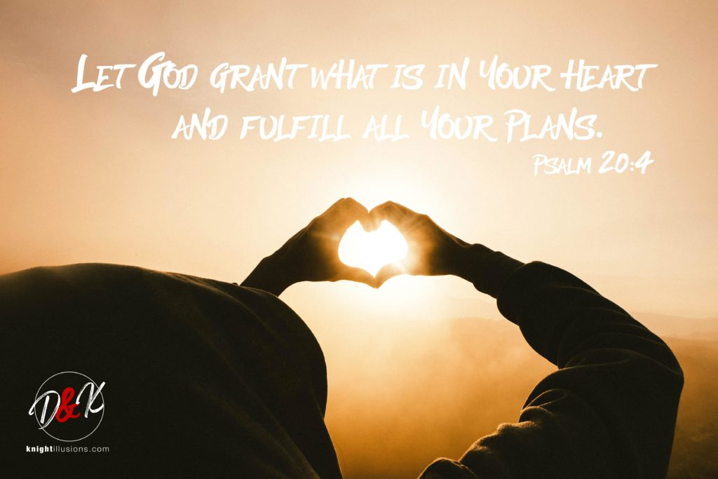 Let God grant what is in your heart and fulfill all your plans.